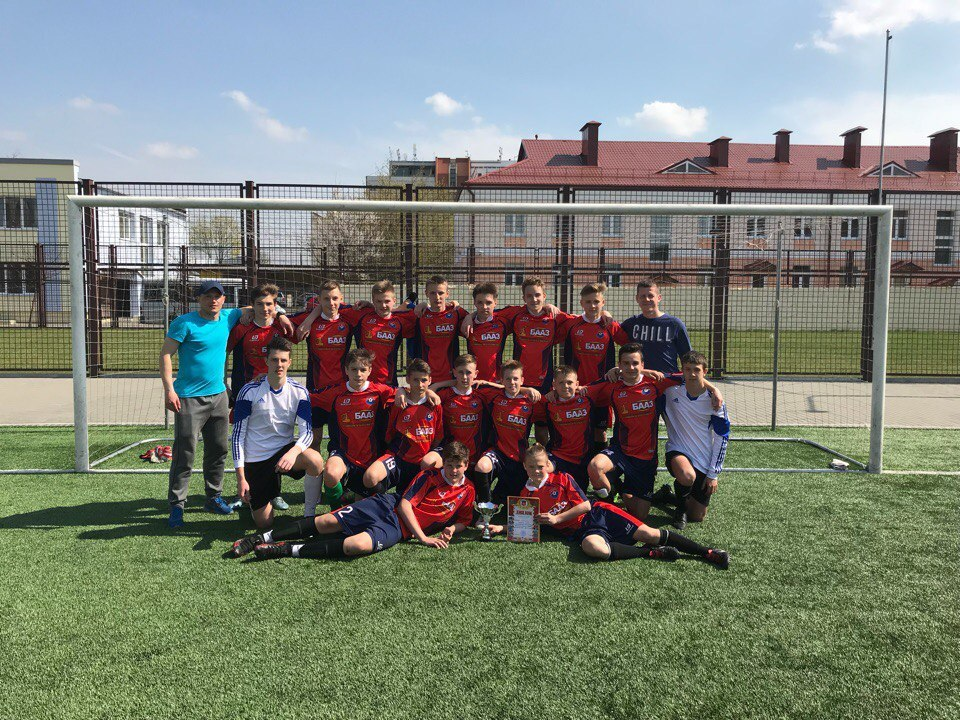 Команда ДЮСШ №5 Барановичи (2003–04 г.р.) – чемпион ОДМ Брестской области 2018 года.