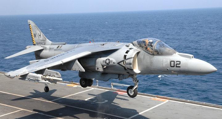 AV-8B Harrier. Фото: wikimedia.org