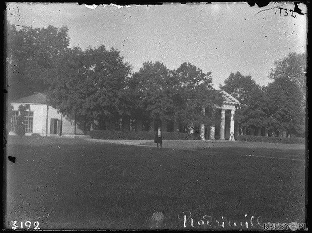 Усадьба Радзивиллимонты не позднее 1939 года. Фото: kresy.pl