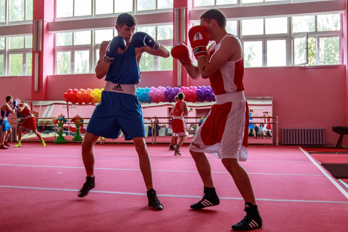 Выступление секции бокса. Фото: Александр ЧЕРНЫЙ