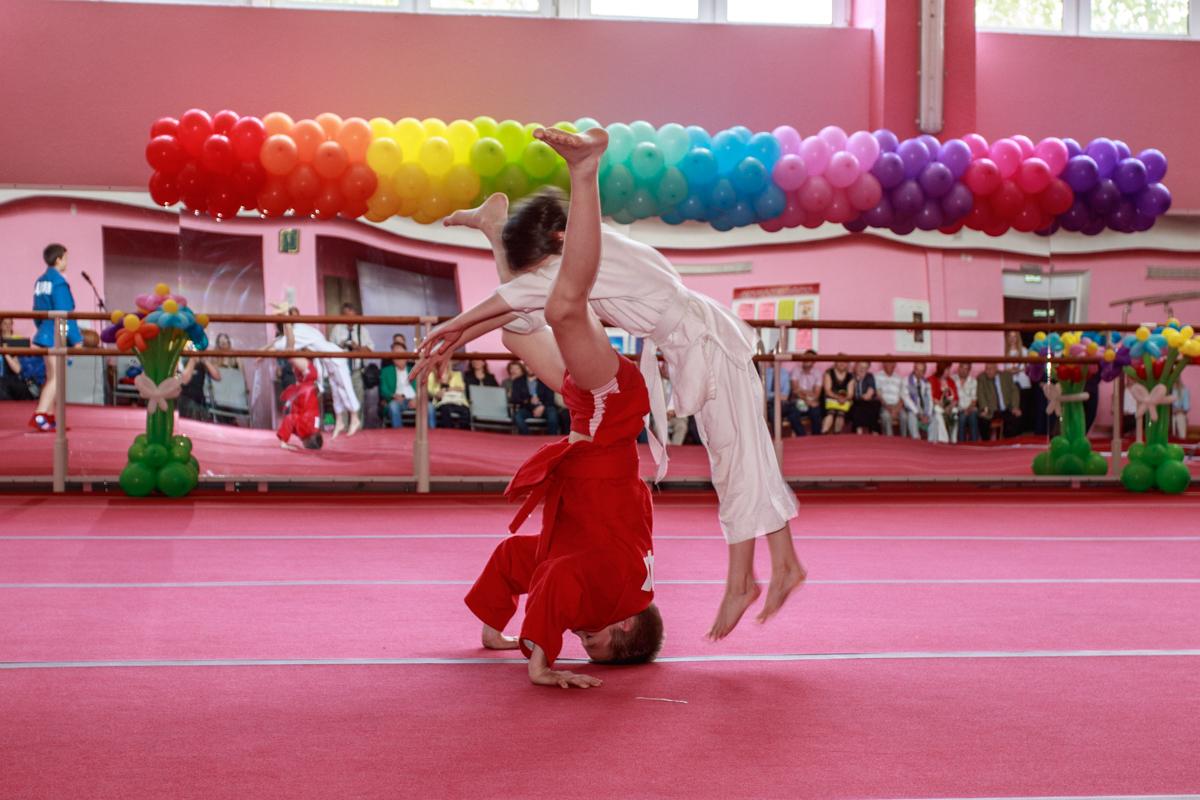 Выступление секции дзюдо. Фото: Александр ЧЕРНЫЙ