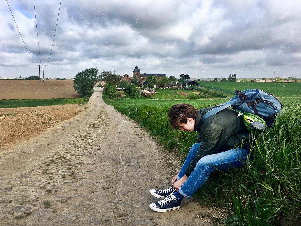 В среднем в день приходилось преодолевать около 20 км. Фото: личный архив Екатерины БУБЕН