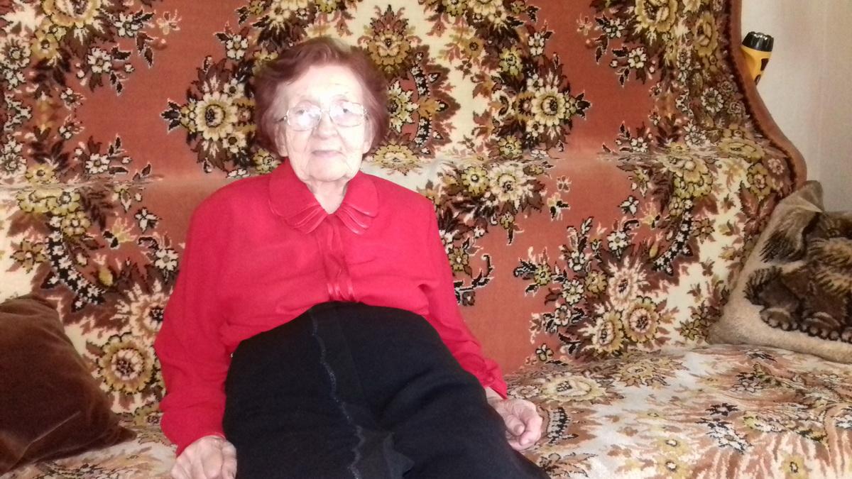 Нина Ивановна пошла добровольцем на войну, как только ей исполни-лось 18 лет. Фото: Людмила СТЕЦКО