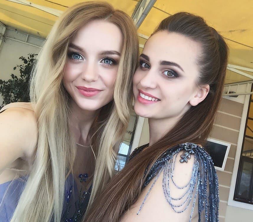 Анастасия Пивоварук и Ольга Бокач. Фото:www.instagram.com/missbelarus2018