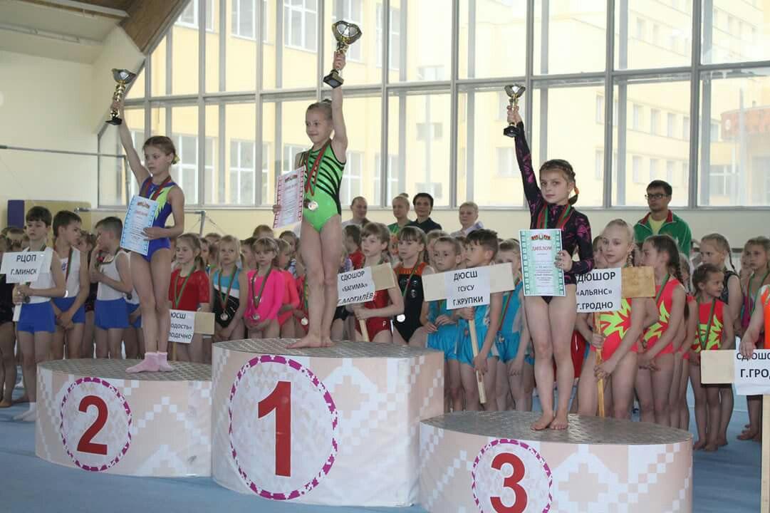 Александра Лайко - победительница соревнований. Фото: СДЮШОР профсоюзов