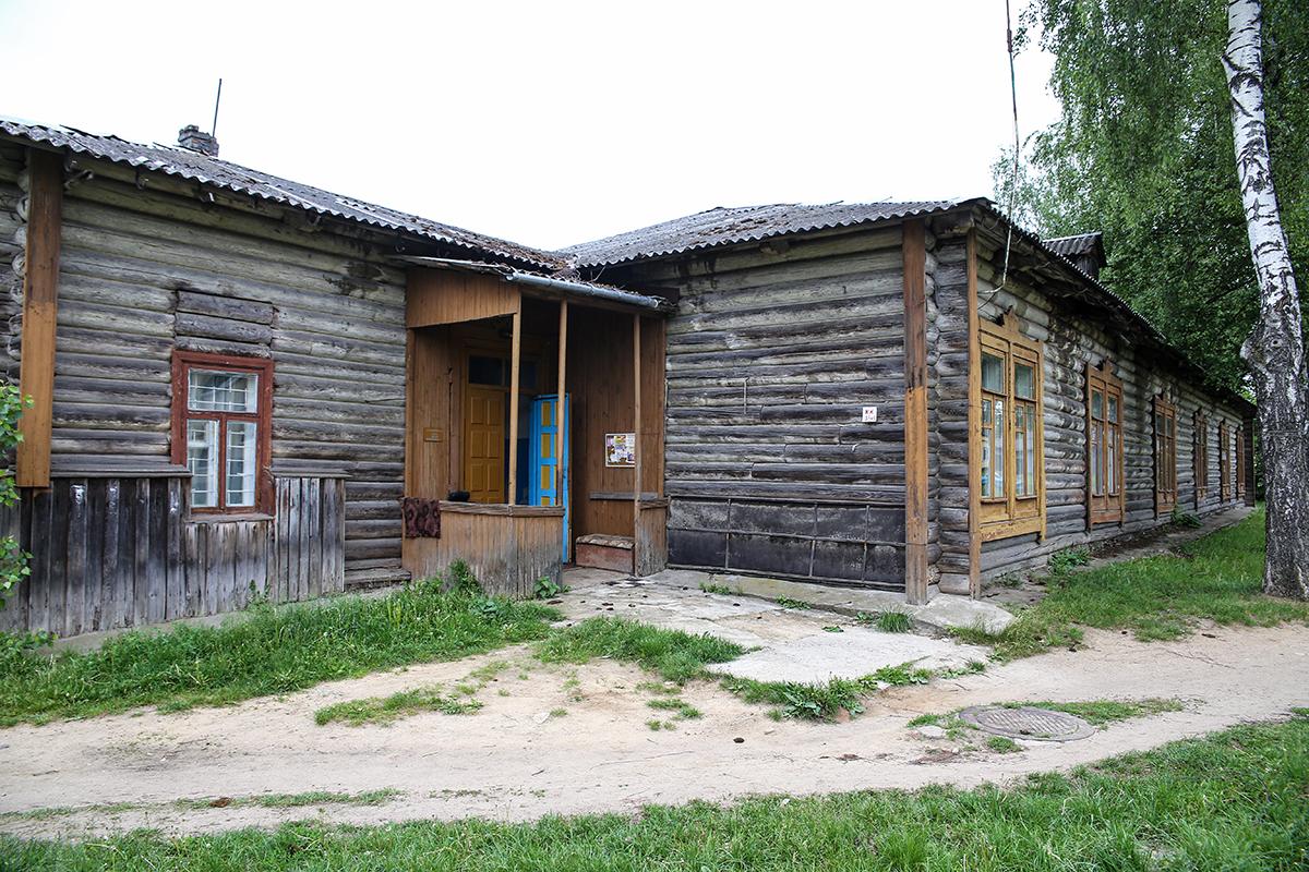 2018 год. Барак на улице Заслонова. Фото: Евгений ТИХАНОВИЧ