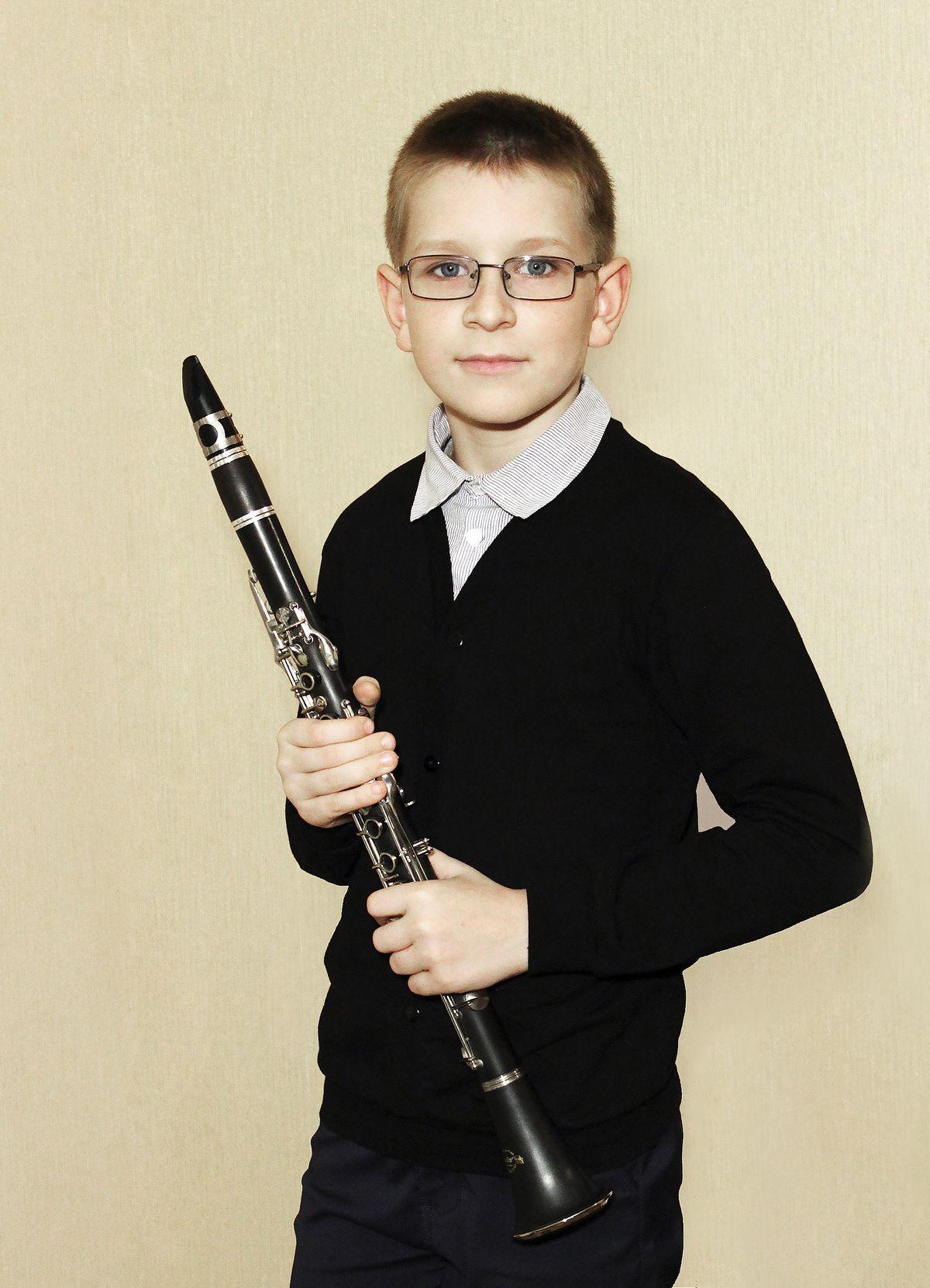 Учащийся детской музыкальной школы искусств №2 Евгений Приступа. Фото: Инна БУСЬКО