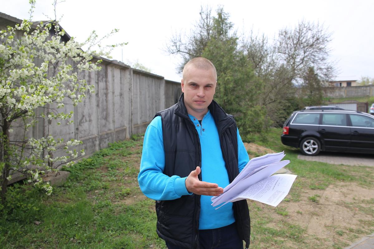 31-летний житель города Барановичи  Максим Романко. Фото: Татьяна МАЛЕЖ