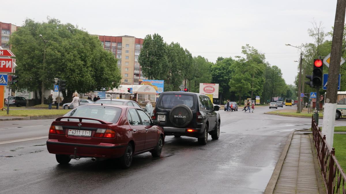 Перекресток улиц Тельмана и Сержанта. Фото: Татьяна МАЛЕЖ