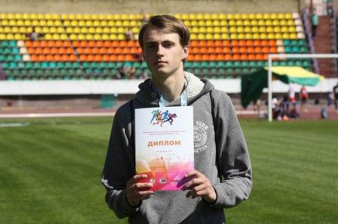 Андрей Милецкий. Фото: Белорусская федерация легкой атлетики
