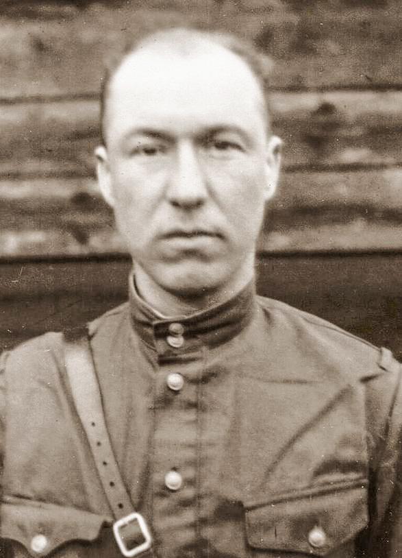 Владимир Мыслевец.  Фото: архив музея МВД Республики Беларусь