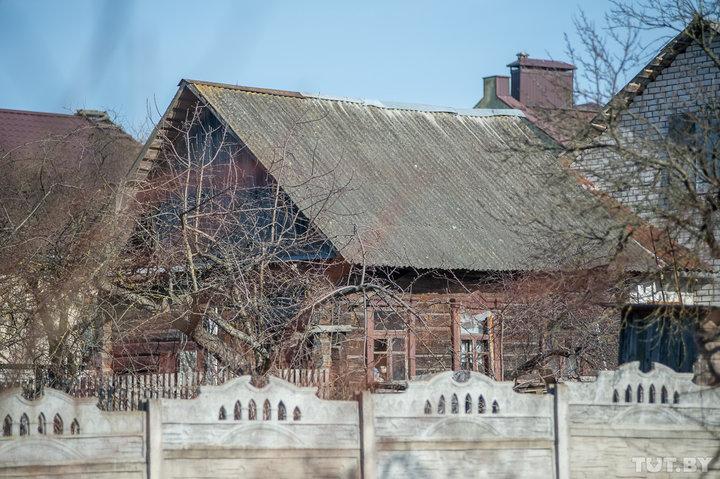 Дом матери Ольги в Цне, который признан непригодным для проживания Фото: TUT.by