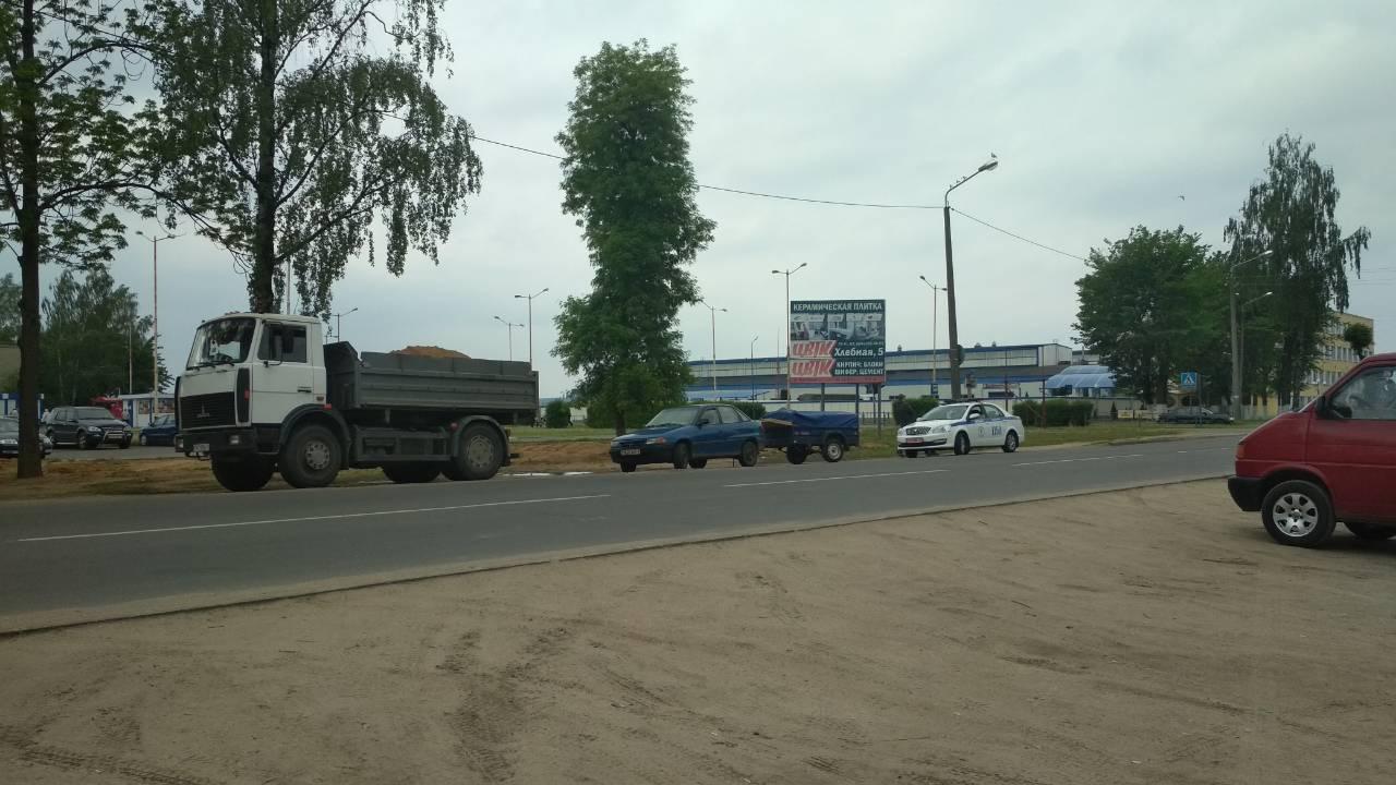 ДТП на перекрестке улиц Тельмана и Сержанта. 16 мая первая половина дня.