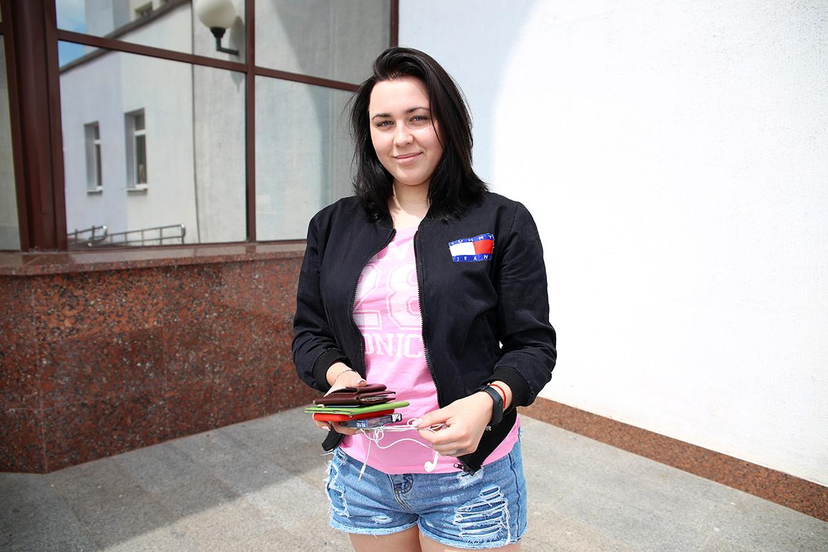 Анастасия Лабкович. Фото: Евгений ТИХАНОВИЧ