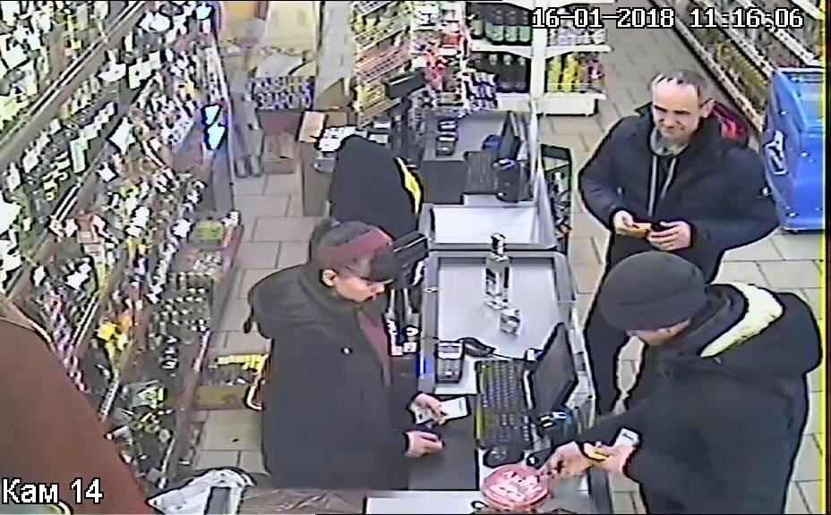 Кадр с камеры видеонаблюдения. Мужчина, которого разыскивает ГАИ.
