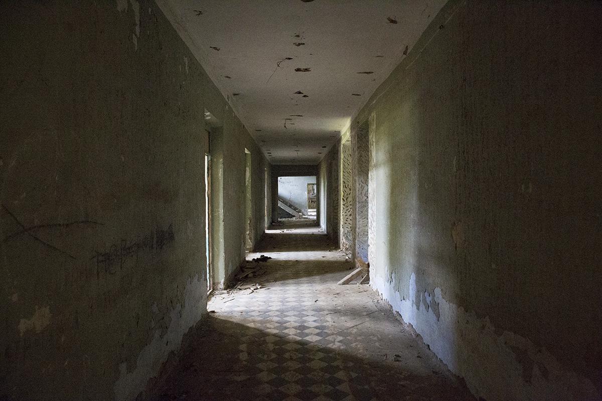 2016 год. Коридор первого этажа усадьбы. Фото: Евгений ТИХАНОВИЧ
