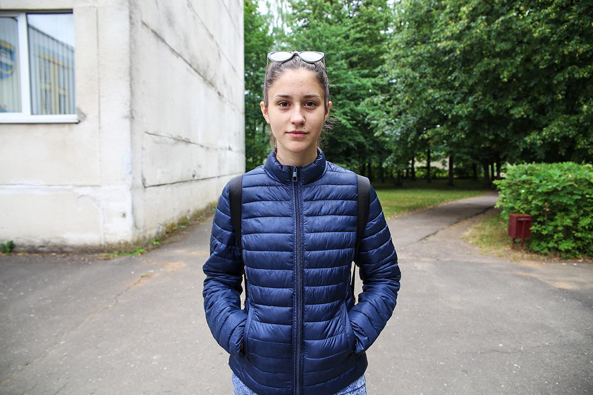 Аня Янченко. Фото: Евгений ТИХАНОВИЧ