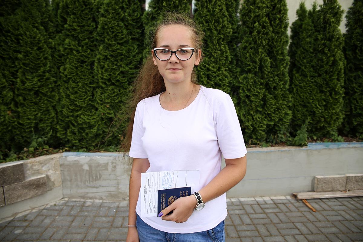 Ангелина Савеня. Фото: Евгений ТИХАНОВИЧ