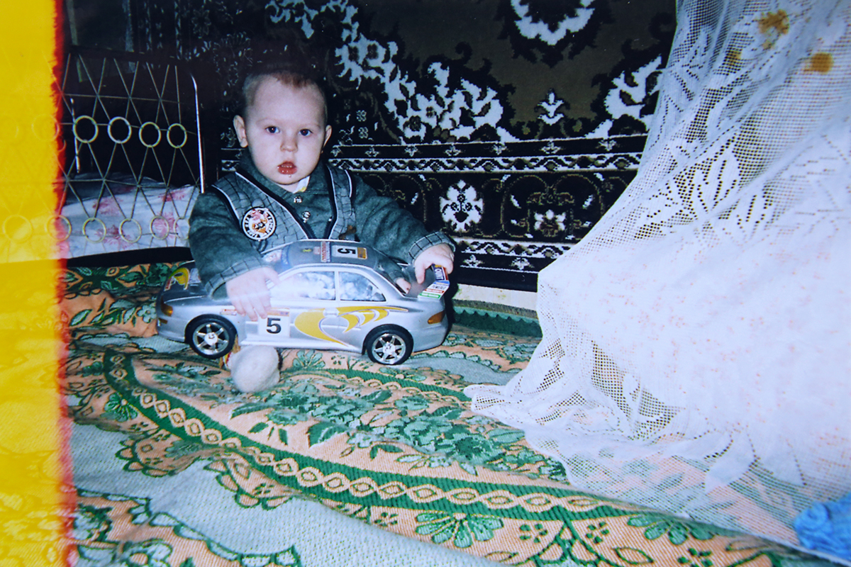 Годовалый Саша. Фото: личный архив Елены