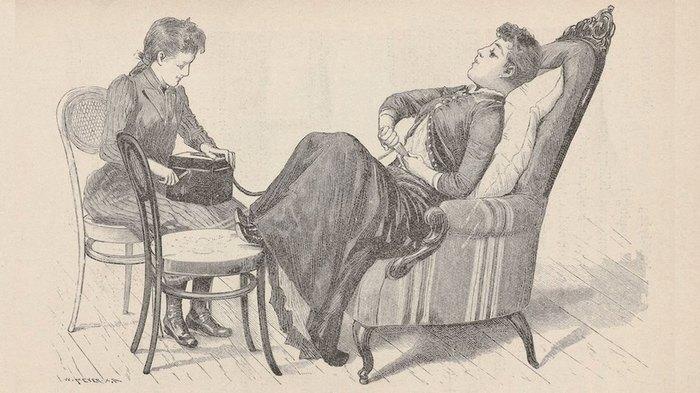 Дамам рекомендовали ходить к специальным докторам на массаж и лечиться вибратором