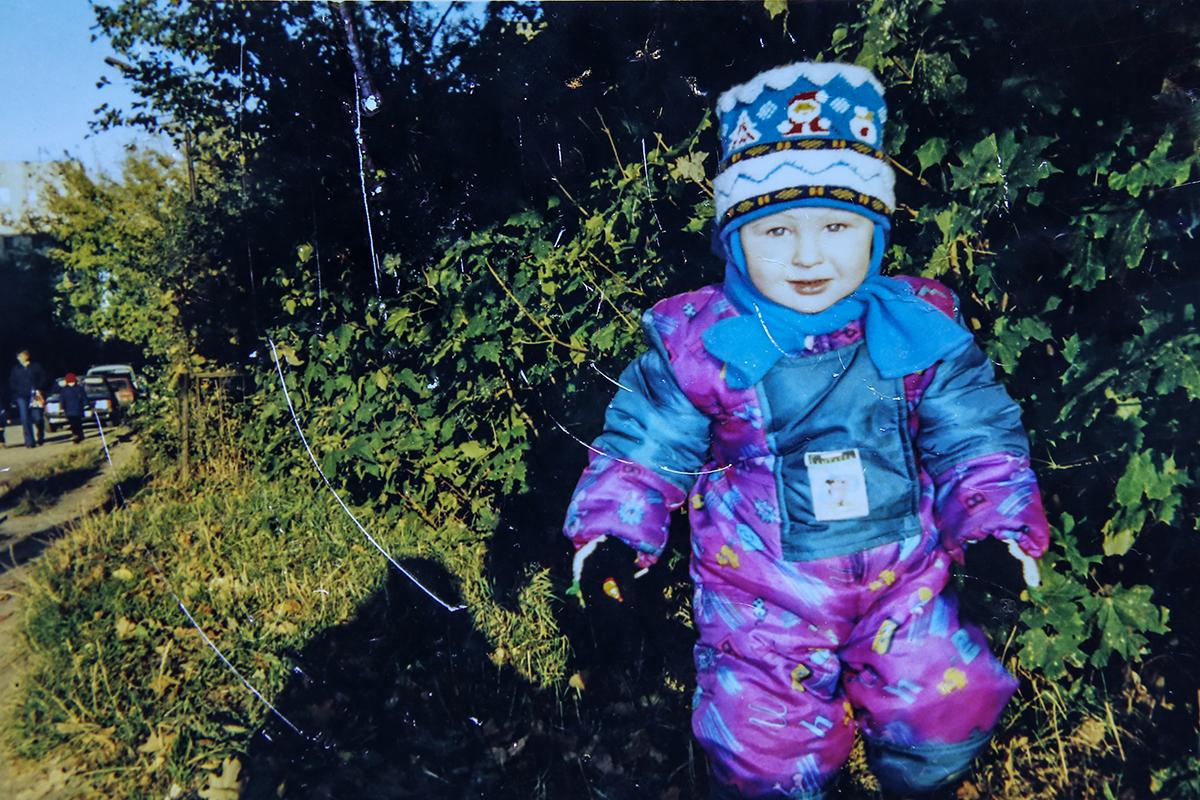 Саше полтора года. Фото: личный архив Елены