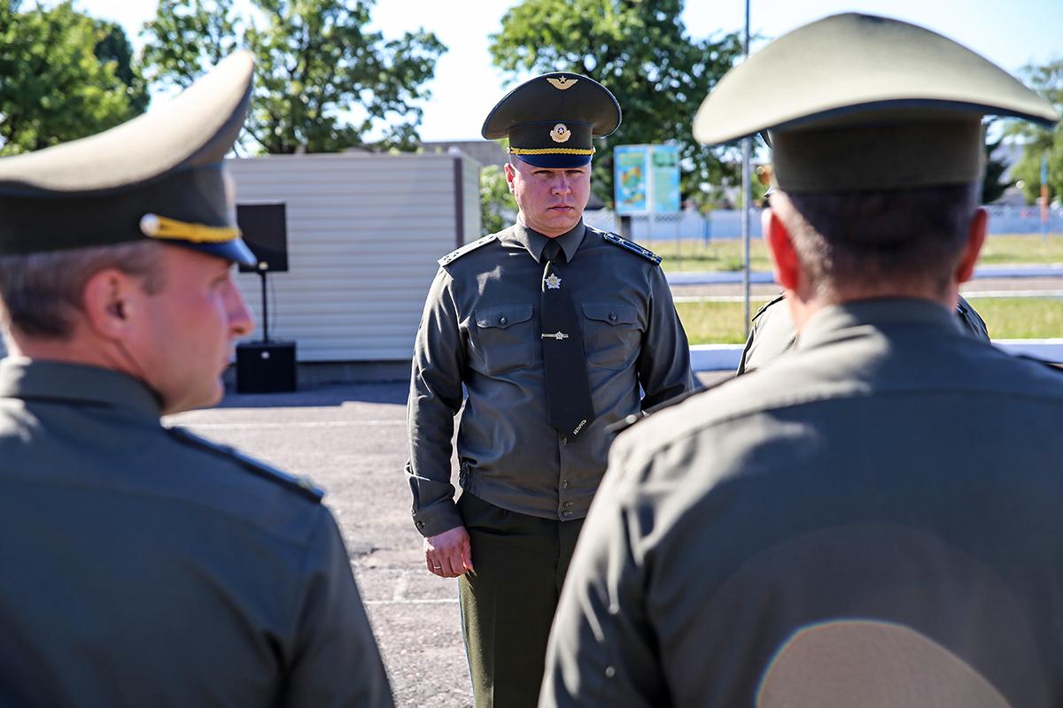 Евгений Кокурин, новый командир бригады. Фото: Евгений ТИХАНОВИЧ