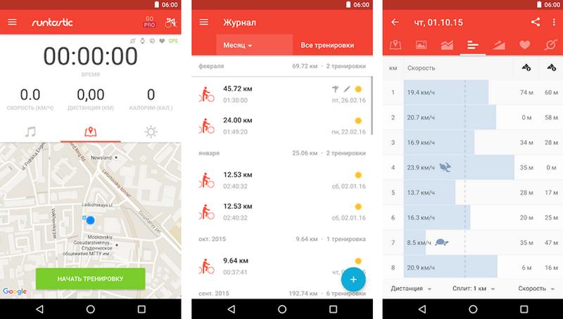 Топ-5 мобильных приложений для велосипедистов — Intex-press. Последние новости города Барановичи, Беларуси и Мира