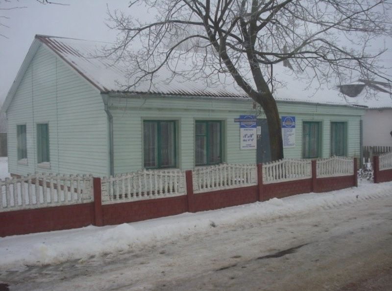 Здание бывшего комплексного приемного пункта в агрогородке Вольно. Фото: brest-region.by