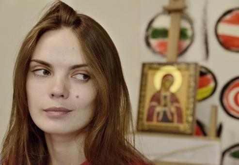 Оксана Шачко. Кадр из фильма «Я — FEMEN»