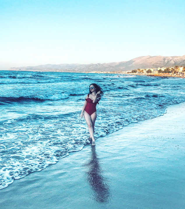 8. Карина Унсович. Греция, Крит. Июль 2018