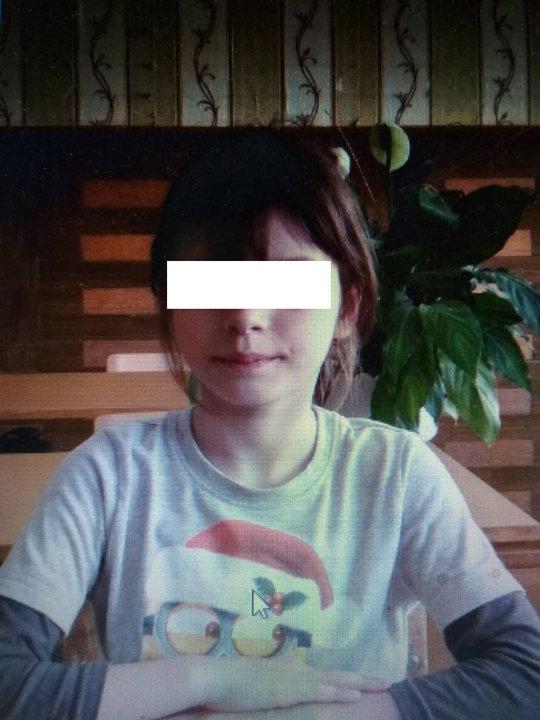 Восьмилетняя Катя, которая спасла четырех братьев и сестер. Фото TUT.by предоставлено соседями.