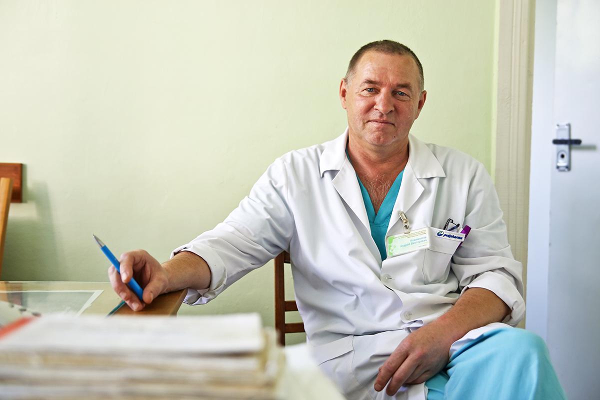 По словам Андрея Кожевникова, мужчины болеют циститом значительно реже, чем женщины. На 50  женщин приходится всего один мужчина. Фото: Евгений ТИХАНОВИЧ