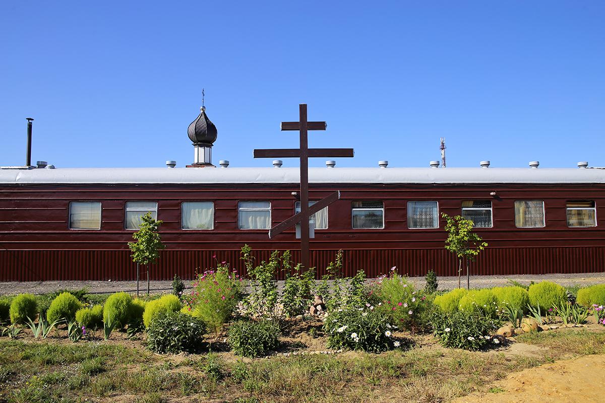 Временный храм православных верующих в Боровках. Фото: Евгений ТИХАНОВИЧ