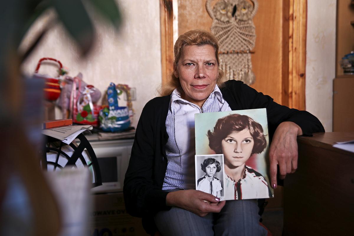 Первой работой Нины Чайковской как ретушера  был портрет ее младшей сестры.  Фото: Евгений ТИХАНОВИЧ