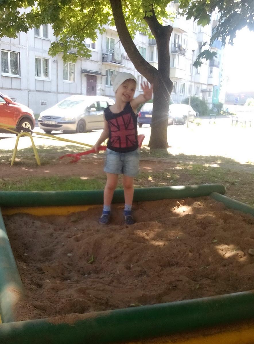 12. Дрозд Александра, 3 года, Барановичи, 2018