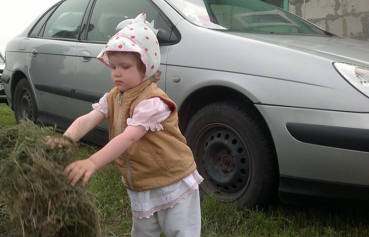23. Полюхович Виктория, 1год 11 месяцев, в деревне, 2018