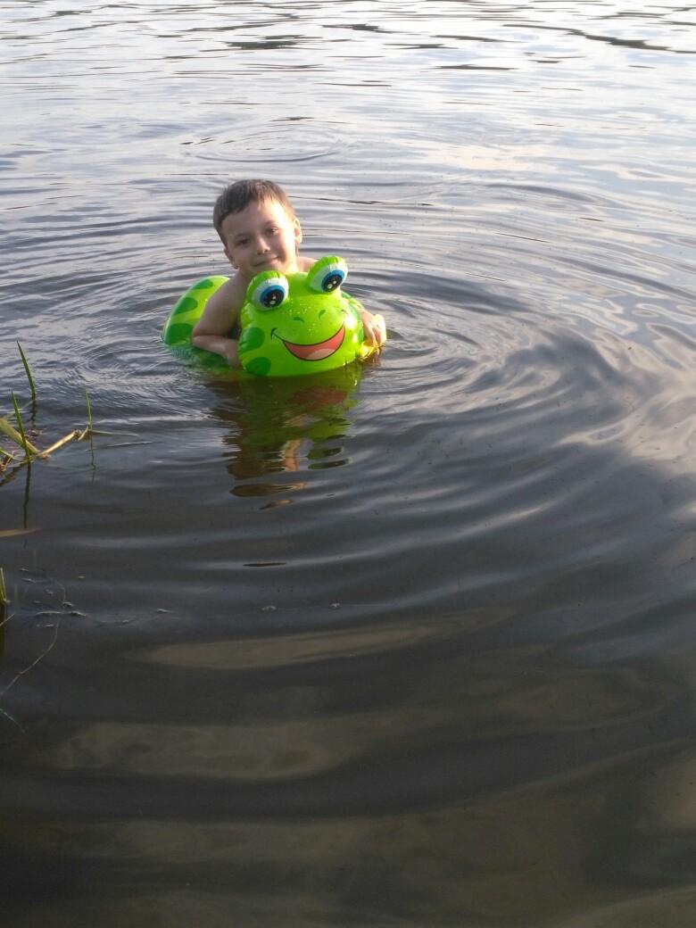 55. Калиновский Иван, 5 лет, оз. Мышанка, 2018