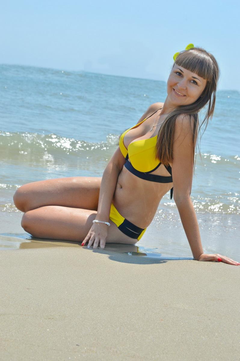 Победительница третьего этапа конкурса «Мисс Купальник» Наталья Черноглазова.