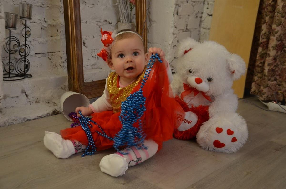 68. Бубен Анелка, 1 год, Барановичи, 2018