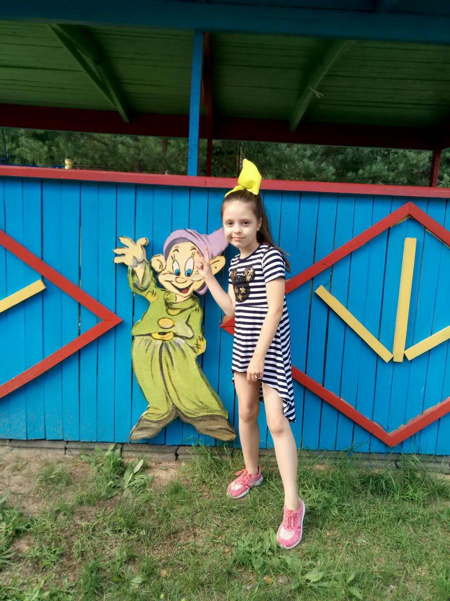 70. Шаменок Елизавета, 7 лет, ОЛ «Дружба», 2018