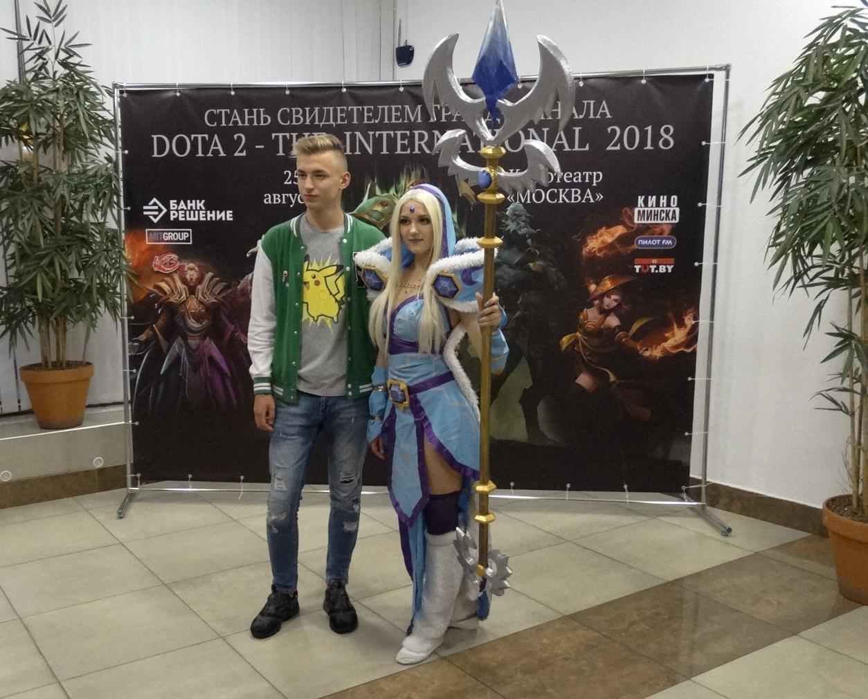 Косплей на героя из Dota 2 — Рилай Фото: Ян ЯКОВЧИК, Павел ШЕВЧЕНКО