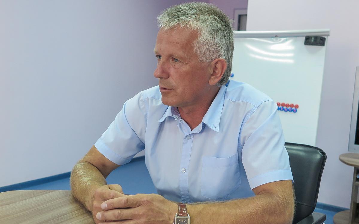 Георгий Бельский – главный тренер ХК «Текстильщик-БарГУ». Фото: Анастасия ШИМКО