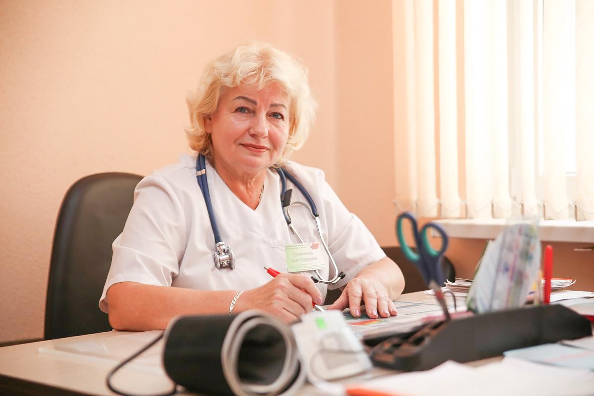 Врач-кардиолог Алла Гудожникова. Фото: Евгений ТИХАНОВИЧ