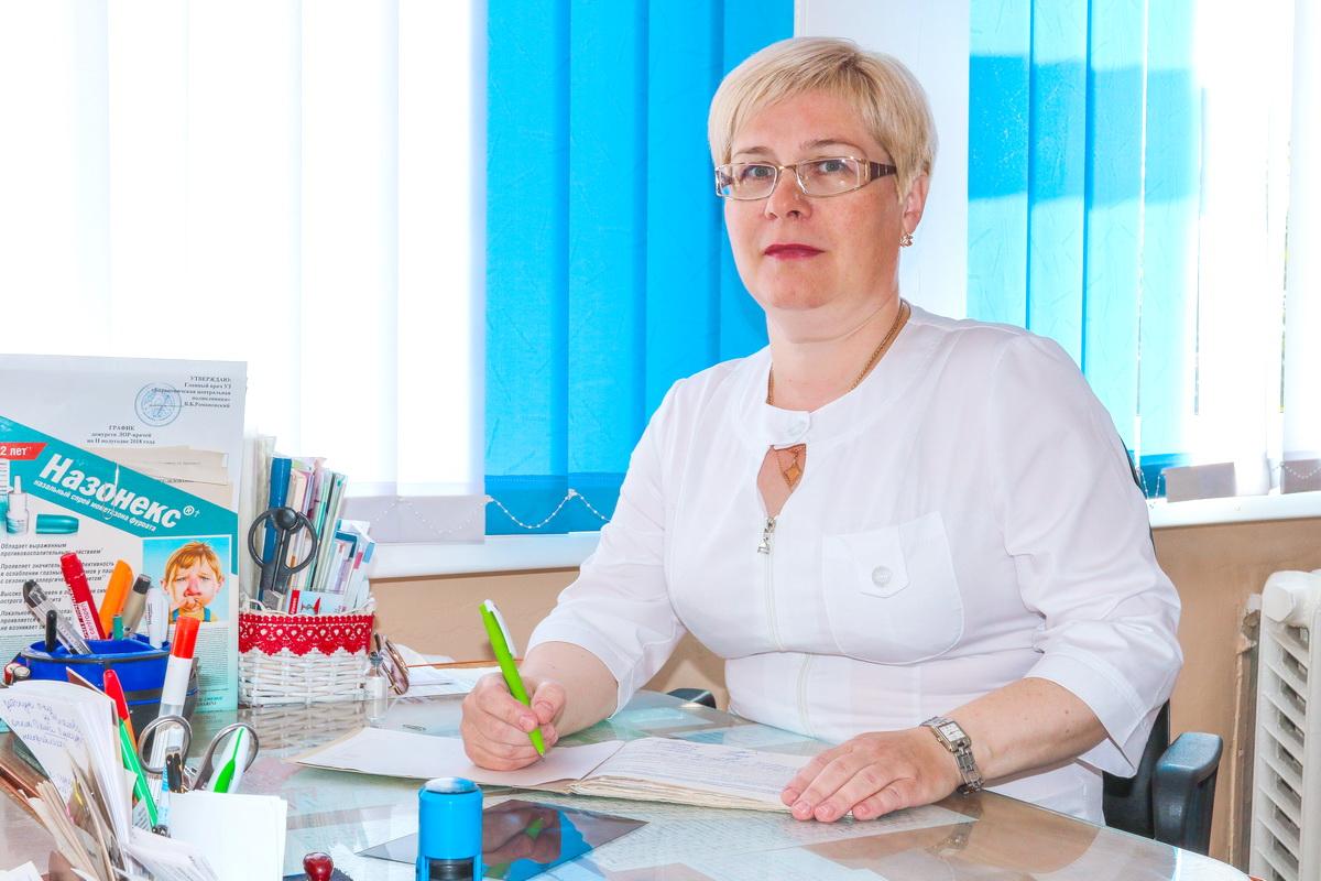 Ежедневно Галина Кравцова принимает около 50 пациентов. Фото: Александр ЧЕРНЫЙ