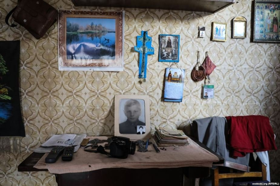 В доме Сергея Фото: svaboda.org