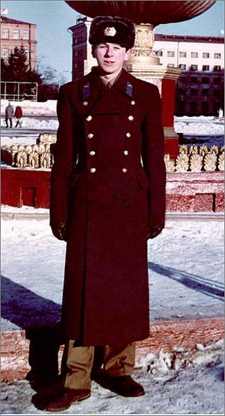 Сергей Румас во время службы на Дальнем  Востоке. Фото: gazetaby.com