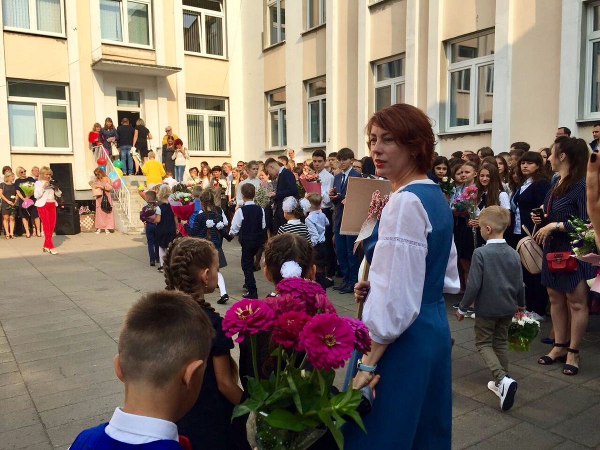 В первом белорусскоязычном классе в гимназии №4 11 учеников. Фото: Татьяна МАЛАЩЕНКО